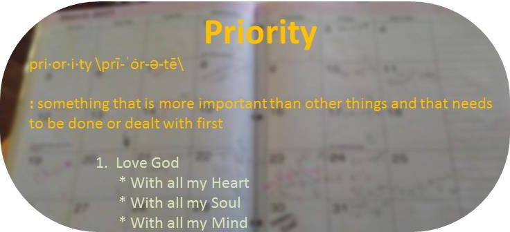 Love the Lord with all your mind