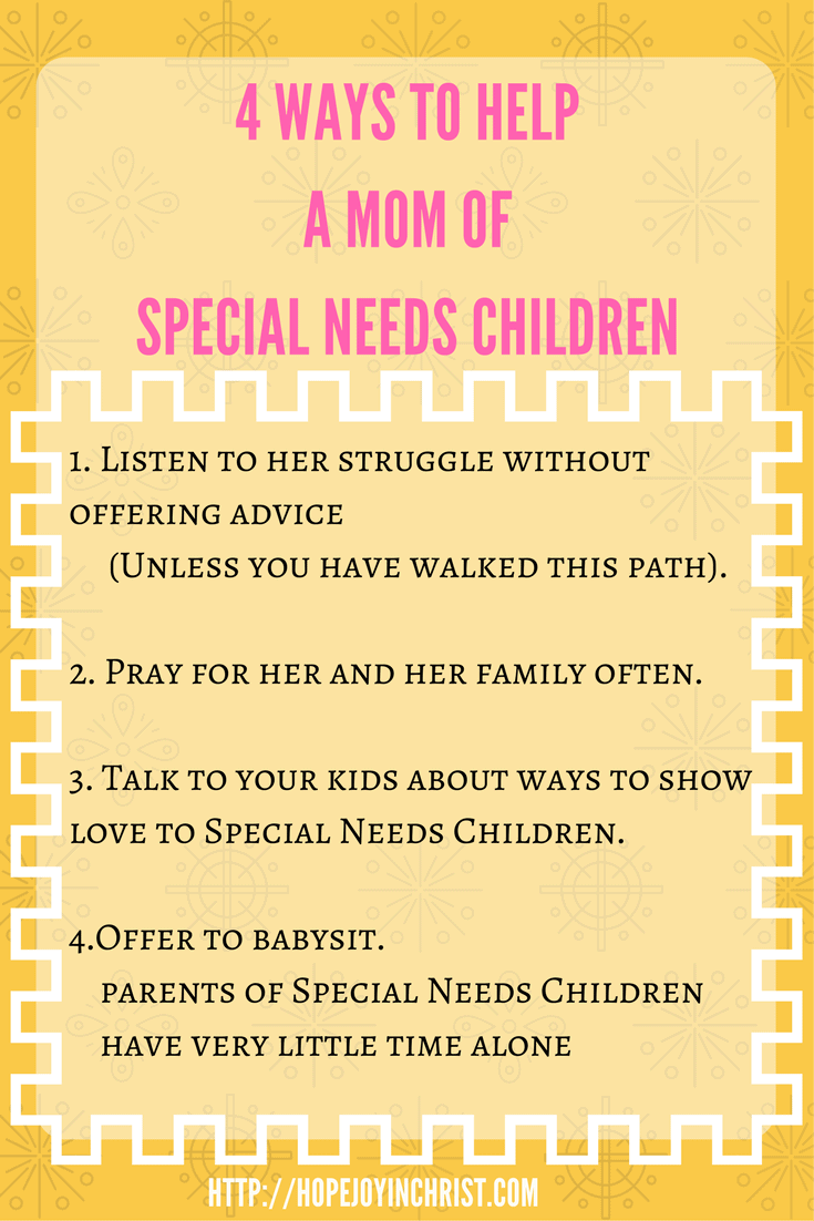 4 Ways to help a mom with special Needs children. Homeschooling with Special Needs. Homeschooling Advice. Homeschooling Planning