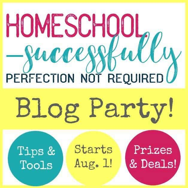 HomeschoolingSuccessfully Blog Party with the Proverbial Homemaker. Homeschool Tips, Giveaways and Deals!