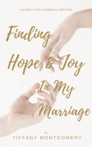 Finding Hope & Joy in My Marriage: A 10 week study on Biblical Wifehood for Christian Wives
