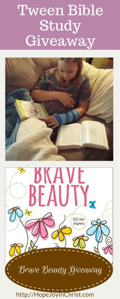 Brave Beauty Giveaway (Tween Resources #BiblicalMotherhood)