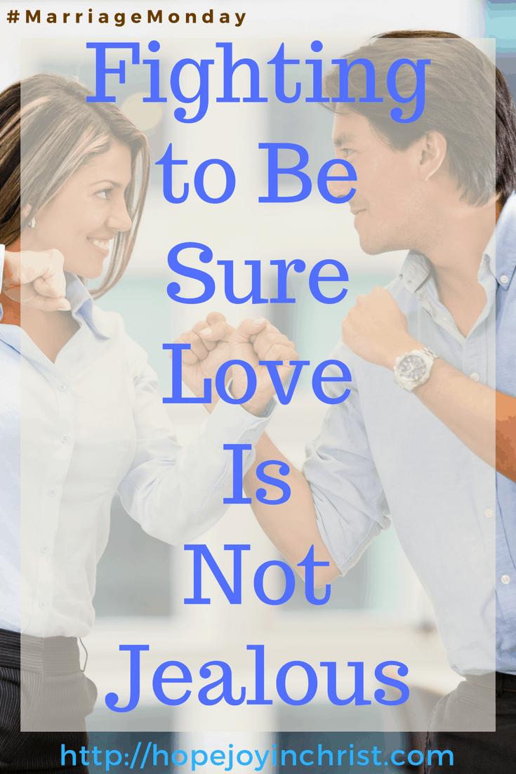 Fighting to Be Sure Love Is Not Jealous PinIt(#MarriageMonday #ChristianMarrigae #BiblicalMarriage #1Corinthians13 #BiblicalWifehood)