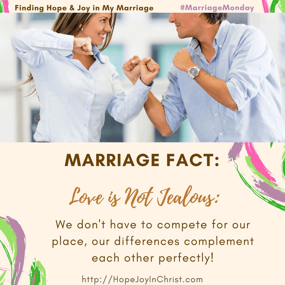 Marriage Fact_ Love Is Not Jealous Fighting to Be Sure Love Is Not Jealous (#MarriageMonday #ChristianMarrigae #BiblicalMarriage #1Corinthians13 #BiblicalWifehood #marriageChallenge)