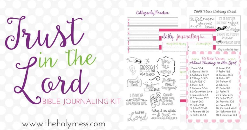 Bible Journaling Kit for Beginners