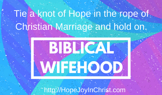 Biblical wifehood quote (Christian Marraige (Reclaiming Hope & Joy in your Marriage))