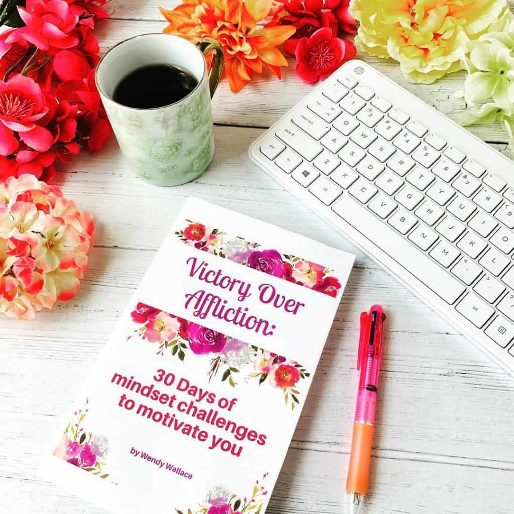Victory over affliction: A giveaway from hope Joy In Christ and Resounding His Love