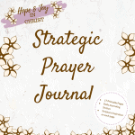 Strategic Prayer Journal #Prayer #PrayHard #PrayerQuotes #Printable #PrayerJournal #PrayerHelp
