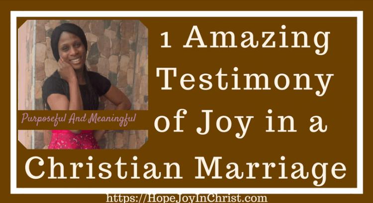1 Amazing Testimony of Joy in a Christian Marriage ( #findinghopeandjoyinmymarriage #ChristianMarriage #ChristianMarriageadvice #BiblicalMarriage #Relationshipadvice #ChristianLiving #HopeinMarriage #JoyInMarriage)