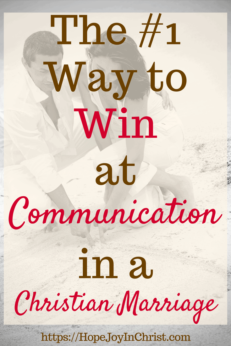 The #1 Way to Win at Communication in a Christian Marriage #Communicationquotes #Communicationrelationship #Communicationskills #Communicationinmarriage #MarriageCommunicationTips #ChristianMarriage #BiblicalMarriage #RelationshipAdvice #MarriageHelp