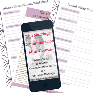 The Marriage Communication Mini Course 300. 6 easy tools to win the communication battle in a christian marriage #Communicationquotes #Communicationrelationship #Communicationskills #Communicationinmarriage #MarriageCommunicationTips #ChristianMarriage #BiblicalMarriage #RelationshipAdvice #MarriageHelp