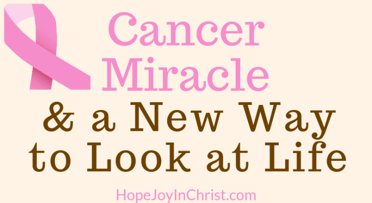 Cancer Miracle and a New Way to Look at Life #PRayerWarrior #CancerMiracle #MiraclePrayer #GodHeals #FightCancer #Miraclestories