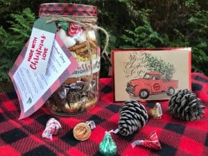 Homemade Nativity Christmas Story Mason Jar gifts under $10 #HomemadeGiftIdeas #ChristmasTradition Gifts the kids can make that people will really like