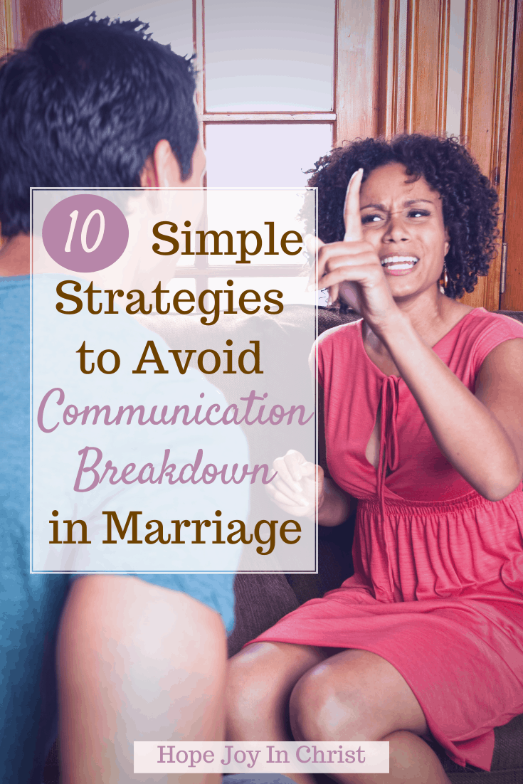 10 Strategies to Avoid Communication Breakdown in Marriage PinIt, What are the 5 ways to avoid communication breakdown? What are the four basic ways to avoid communication barriers? What is the easiest and most difficult way to avoid communication breakdown? Strategies to avoid communication breakdown ppt, What are the strategies for effective communication? What are 3 communication strategies? How to avoid communication breakdown, what are the strategies to avoid communication breakdown, signs of poor communication in marriage, how to avoid communication breakdown, communication breakdown examples, how do you prevent communication breakdown in a relationship? what causes communication breakdown in marriage? How do you stop a marriage breakdown? Marriage Advice #ChristianMarriageAdvice #HopeJoyInChrist
