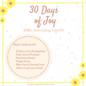 Joy Bible Journaling starter Kit Sq, Bible journaling for beginners, Bible journaling scripture study, Bible jounrnaling printables #BibleJournaling #HopeJoyinChrist