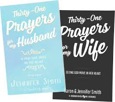 31 Days of Prayer for My Wife and 31 Days of Prayer for My Husband books