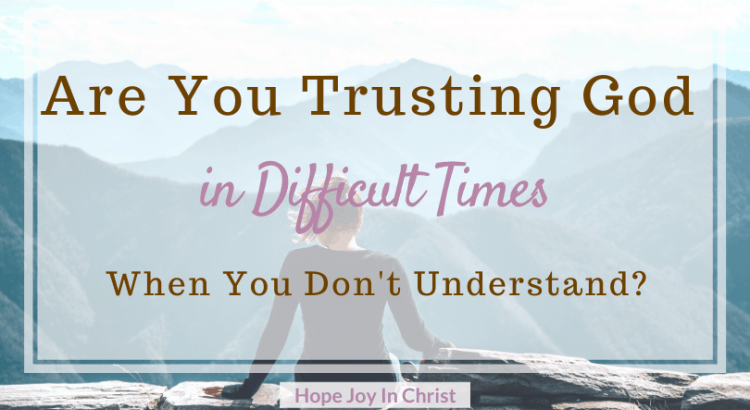 Are You Trusting God in Difficult Times When You Don't Understand? Be Still and Trust God When You Don't Understand, Trust God in hard times, 40 Day fast to Be Still and Know God More. What does it mean to be still? How To be still. Spiritual Warfare. Know God quotes. Hear God's Voice. Be Still Quotes, trusting God's plan, trusting God quotes faith #TrustingGod #HopeJoyInChrist